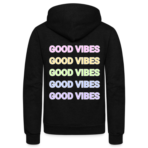 Good Vibes - Unisex Fleece Zip Hoodie