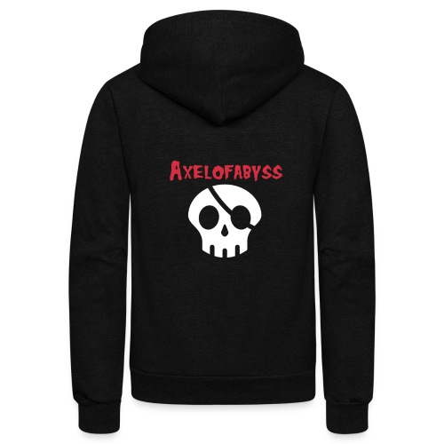 Skull pirate - Unisex Fleece Zip Hoodie