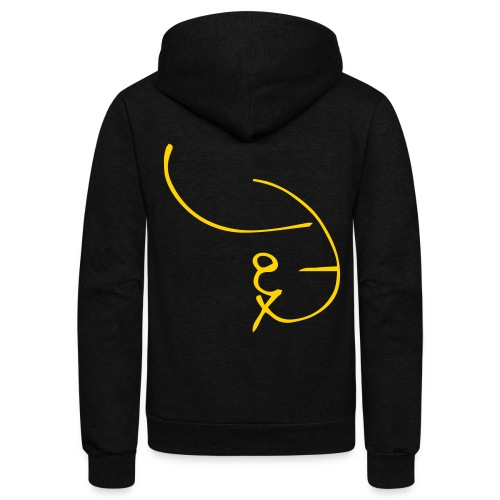 Jax-T Shorthand Signature Shirt - Unisex Fleece Zip Hoodie