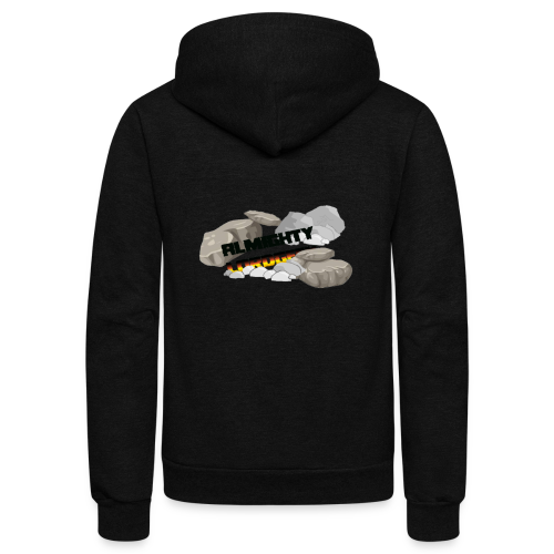 LordGeekRubble - Unisex Fleece Zip Hoodie
