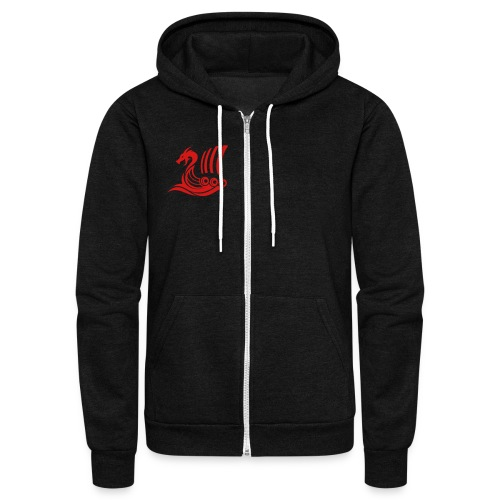 Raido Icon - Unisex Fleece Zip Hoodie