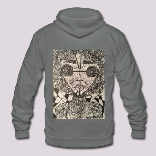 The Transformation - Unisex Fleece Zip Hoodie