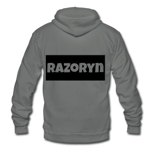 Razoryn Plain Shirt - Unisex Fleece Zip Hoodie