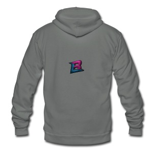 BlaZe Kranteon Logo - Unisex Fleece Zip Hoodie