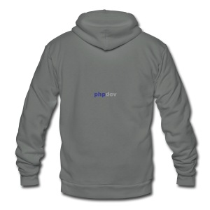 phpdev Products - Unisex Fleece Zip Hoodie
