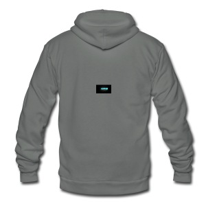 Gamer4Life Tshirt - Unisex Fleece Zip Hoodie by American Apparel