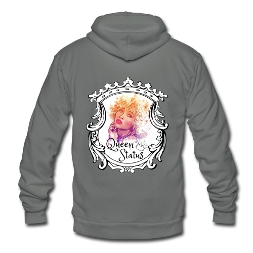 Queen Status - Unisex Fleece Zip Hoodie