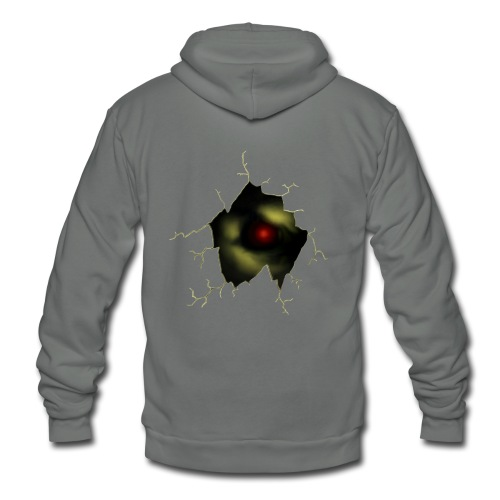 Broken Egg Dragon Eye - Unisex Fleece Zip Hoodie