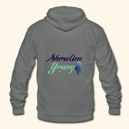 bluegreenshoreline - Unisex Fleece Zip Hoodie