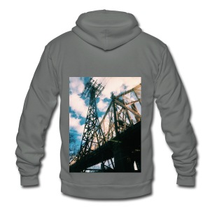 Ed Koch bridge - Unisex Fleece Zip Hoodie