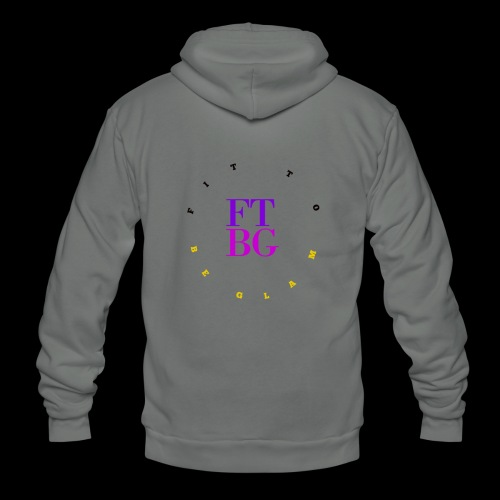 FIT TO BE GLAM 5 - Unisex Fleece Zip Hoodie