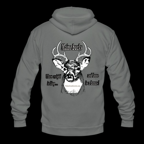 Maine Bucks - Unisex Fleece Zip Hoodie