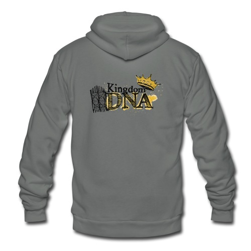 Kingdom DNA - Unisex Fleece Zip Hoodie
