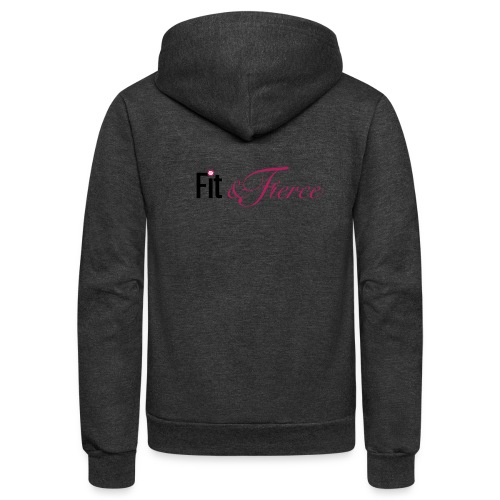 Fit Fierce - Unisex Fleece Zip Hoodie