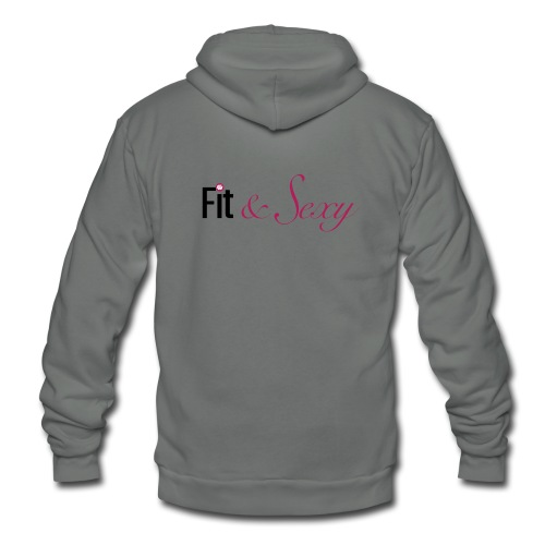 Fit And Sexy - Unisex Fleece Zip Hoodie