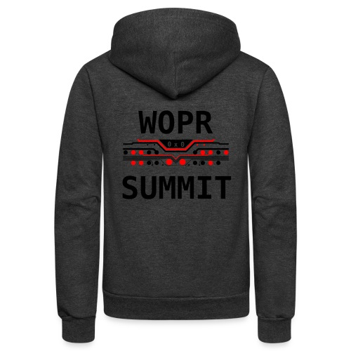 WOPR Summit 0x0 RB - Unisex Fleece Zip Hoodie