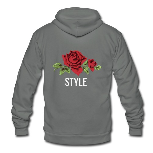ROSE - NEWSTyLE - Unisex Fleece Zip Hoodie