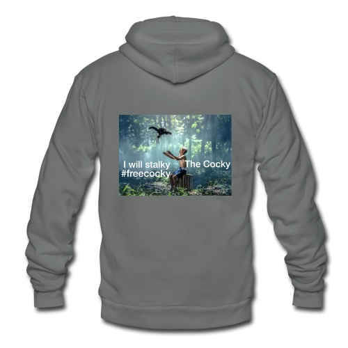 Stalky The Cocky Clothing - Unisex Fleece Zip Hoodie