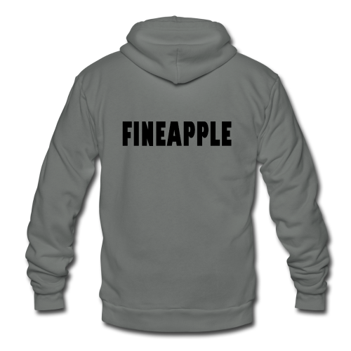 FINEAPPLE - Unisex Fleece Zip Hoodie