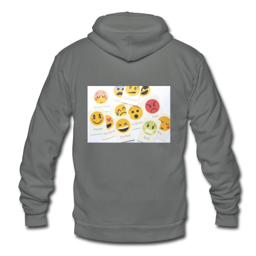Emotions - Unisex Fleece Zip Hoodie
