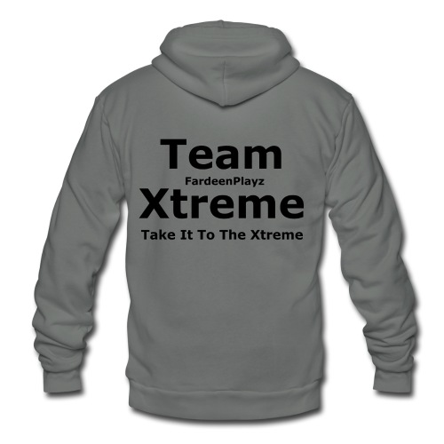 Team Xtreme Member - Unisex Fleece Zip Hoodie