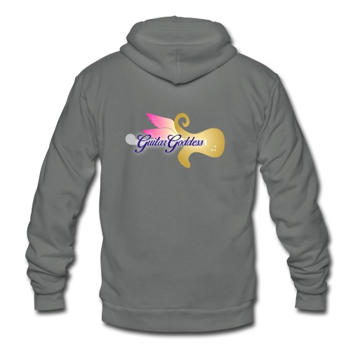 Guitar Goddess - Unisex Fleece Zip Hoodie
