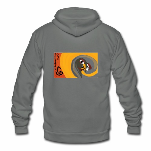 Eclipse - Unisex Fleece Zip Hoodie