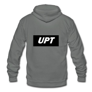 UPt_custom_2 - Unisex Fleece Zip Hoodie by American Apparel