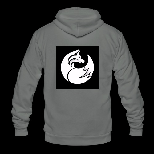 Confident wolf merch - Unisex Fleece Zip Hoodie