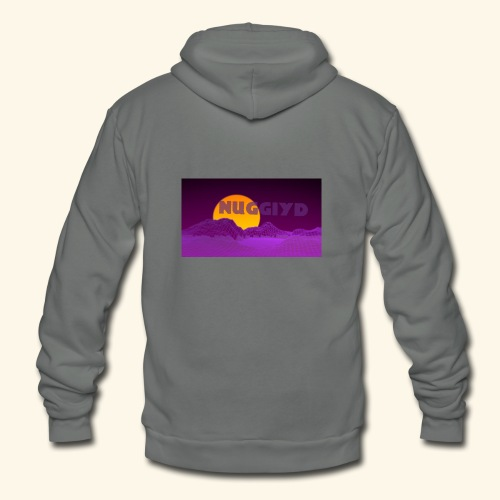 purple boy shirt - Unisex Fleece Zip Hoodie