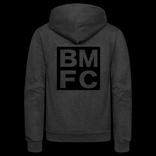 Black Man Fan Club | BMFC - Unisex Fleece Zip Hoodie