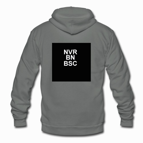 Never Been Basic - Unisex Fleece Zip Hoodie