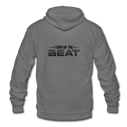 Turn Up The Beat - Unisex Fleece Zip Hoodie