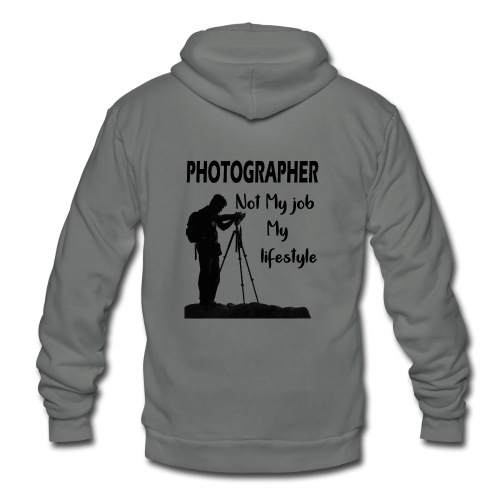 photgrapher - Unisex Fleece Zip Hoodie
