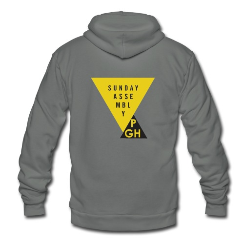 Sunday Assembly Pittsburgh Logo - Unisex Fleece Zip Hoodie
