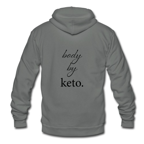 Body By Keto - Unisex Fleece Zip Hoodie