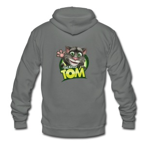 Talking_TOM_wave_preview_lowRes - Unisex Fleece Zip Hoodie
