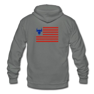 PivotBoss Flag - Unisex Fleece Zip Hoodie