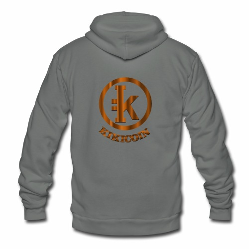 kikicoin new - Unisex Fleece Zip Hoodie
