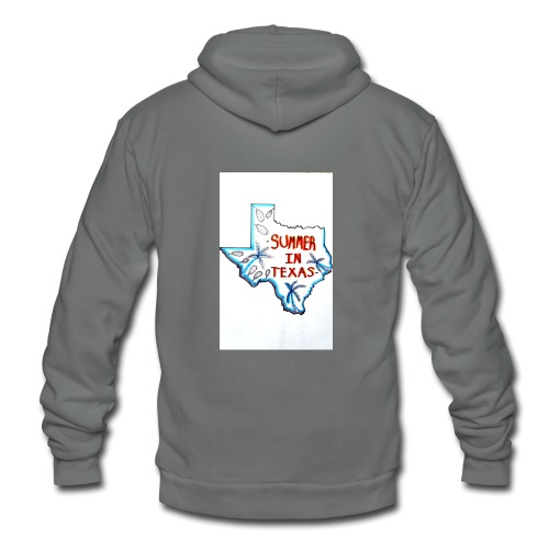 Summer in Texas - Unisex Fleece Zip Hoodie