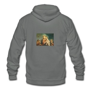 MAdonna and St. Steven - Unisex Fleece Zip Hoodie