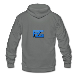 Freeze Gaming Logo - Unisex Fleece Zip Hoodie