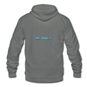 Just Dream It - Unisex Fleece Zip Hoodie