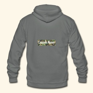 Cascade money camo - Unisex Fleece Zip Hoodie