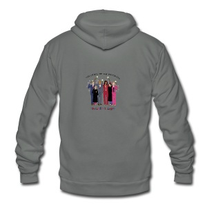 The Order of the Pantsuits: Hillary's Army - Unisex Fleece Zip Hoodie