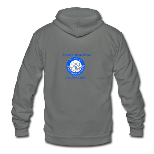 BarberShop Books - Unisex Fleece Zip Hoodie