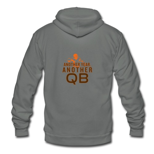 Another Year, Another QB - Unisex Fleece Zip Hoodie