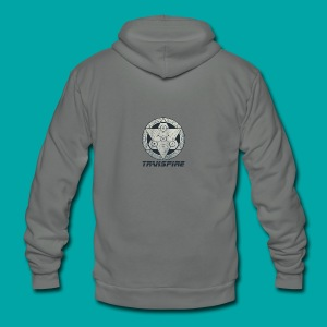 Sacred Geometry - Unisex Fleece Zip Hoodie by American Apparel