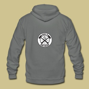 JakesBlueCollar - Unisex Fleece Zip Hoodie by American Apparel