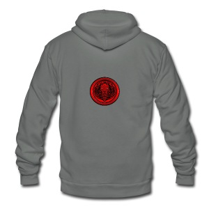 Acrosal Logo Tshirt - Unisex Fleece Zip Hoodie by American Apparel